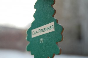 Post image for Instant car air freshener for pennies