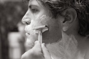 Post image for In which we admit defeat in the classic struggle between man and expensive razor