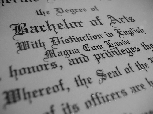 top 10 degrees to get high school papers online
