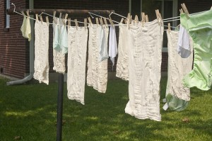 Post image for Line drying laundry — an update
