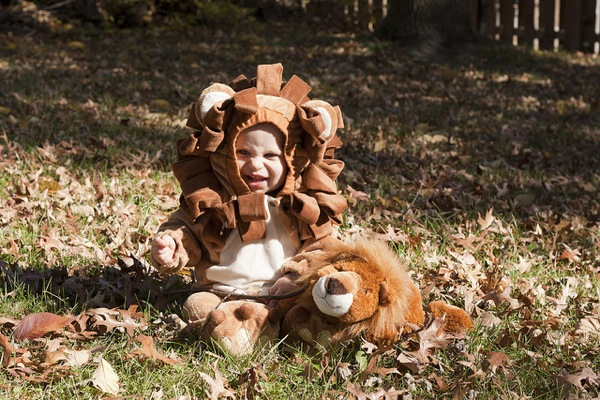 Post image for Happy Halloween from our little lion cub