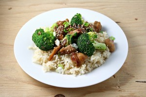 Post image for Chicken and broccoli stir fry