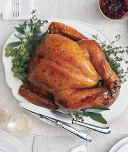 Post image for Thanksgiving menu with recipes