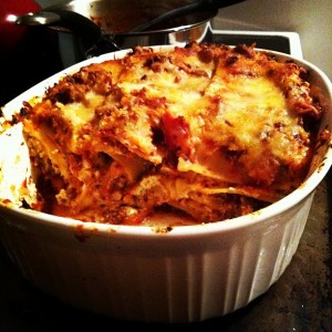 Post image for Lasagna with old-fashioned marinara sauce